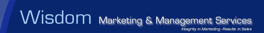 Wisdom Marketing & Management Services - Intergity in Marketing - Results in Sales